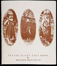 Please Plant This Book, By Richard Brautigan, This was a folder containing eight seed packets. On the front of each is a poem. There were copies produced, and distributed for free. Squash: The time is right to mix sentences/sentences with di Kinds Of Reading, Make Photo, Seed Packets, Special Gifts, My Books, Poems, Crafts For Kids, This Book, This Or That Questions