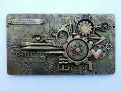 Recycled pencilbox Finnabair style