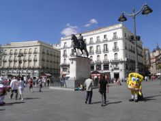 Puerta del Sol, Madrid, España