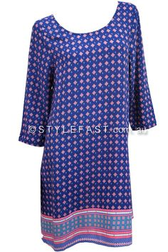 Blue Soul Avery Shift Dress - purchased Cover Up, Europe, Blue, Stuff To Buy, Dresses, Fashion, Vestidos, Moda, Gowns