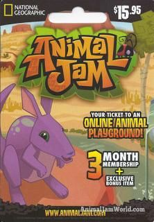 animal jam membership codes 2017