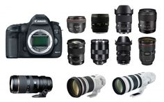Best lenses for Canon EOS Mark II DSLR camera. Looking for recommended lenses for your Canon EOS Mark II? Here are the recommended Mark II lenses. Digital Camera Tips, Nikon Digital Slr, Best Dslr, Best Camera, Cameras Nikon, Nikon D800, Dslr Accessories, Dslr Photography Tips, Photography Classes