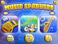 Music Sparkles - All In One Musical Instruments Collection HD App Review
