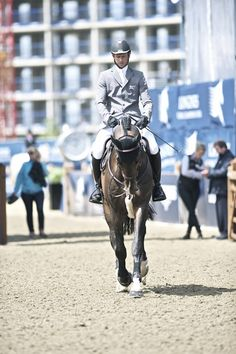 Photo of the Day- Germany's Marco Kutcher & Spartacus at the Longines Global Champions Tour in London