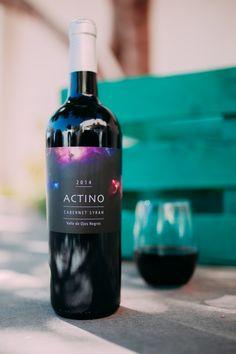 Actino es un Vino Mexicano ideal para disfrutar en ocasiones especiales.