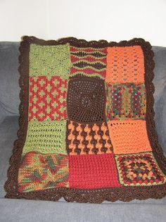 Alfa img - Showing > Crochet Sampler Afghan