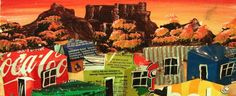 Township Love Art, South Africa, Art Ideas, Masks, African, Paintings, Artists, Live, Places