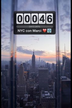 New York City see you soon