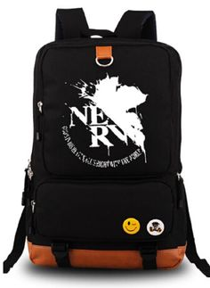 YOYOSHome® EVA - Neon Genesis Evangelion Anime Cartoon Canvas Backpack School Bag. After absorbing light, the white color of the LOGO will turn green in the night. Material: High quality canvas. EVA - Neon Genesis Evangelion pattern style design. Size: 29(L) *44(H) * 14(W)cm. KINDLY REMINDER:We will send you a shopping bag of our store's Logo together with this anime backpack as a gift for you, You can refer to the last picture.