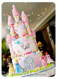 You ask what I want for my birthday? This disney princess cake. Have it made, and bring it to me.