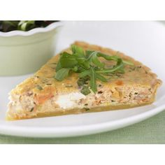 This salmon tart by Woman's Day is the perfect go-to recipe for when you need to whip up a tasty and impressive lunch. Add some style with a side salad and a cold, crisp white wine.