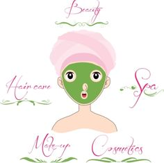 Beauty and Care logo template set