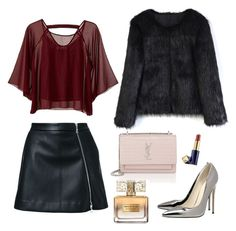 """""""go on"""" by asma23sg on Polyvore featuring Chicwish, Guild Prime, Traffic People, Yves Saint Laurent, Givenchy and Estée Lauder"""
