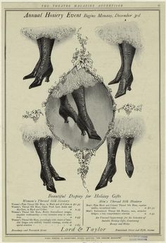 Annual hosiery event begins Monday, December 3rd. (1906)  New York Public Library