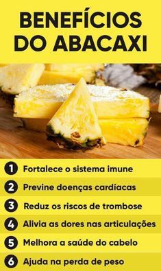 Benefícios do abacaxi 🍍 Dieta Flexible, Smoothies Detox, Healthy Tips, Healthy Recipes, Fruit Benefits, Oranges And Lemons, Fat Burning Drinks, Best Fruits, Citrus Fruits