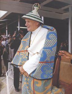 Christian World, Christian Art, Pape Jeans, Papa Juan Pablo Ii, Pope John Paul Ii, Catholic Saints, Trinidad, Madonna, Spiritual