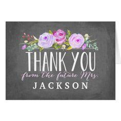 Rose Garden | Purple | Thank You Card