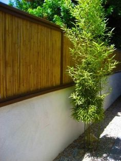 How To Make An Outdoor Bamboo Privacy Screen