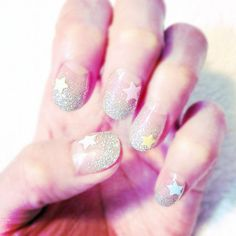 Great way to use the Liquid Sand nail polish collection by OPI!  (Except in fun colors!)