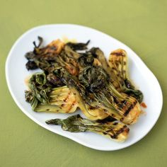 Grilling bok choy in this savory sauce gives it a delicious twist.