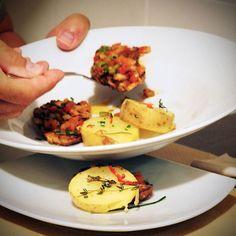 Hoy te quiero enseñar, algunas de las fotos que hice para el restaurante #elbindu. Este fantástico plato, es un seitan al chimichurri.