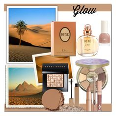 """""""Spring Glow On!"""" by dezaval ❤ liked on Polyvore featuring beauty, Christian Dior, tarte, Clarins, Bobbi Brown Cosmetics, Urban Decay and springglow"""