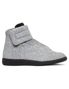 MAISON MARGIELA Silver M3 Future Sneakers · VERGLE