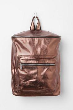 Metallic #HolidayTrend #backpack