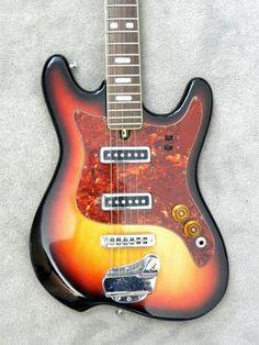 vintage Kawai 'G Holiday', 1960s/70s Japanese guitar