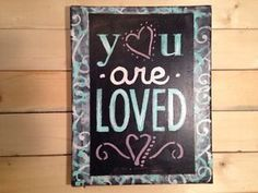Inspirational Canvas Artwork Words & Quotes Wall Decor ValentInes    COTTAGE  | eBay