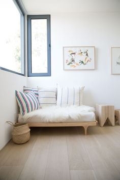 Caravan Divan Platform Bed and Stumps 'in the wild'. Paired with the Dream No. 1 Mattress. #kalon