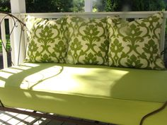 Twin Size Outdoor Mattress Cover Porch Swing Daybed By Harrisdesignsct