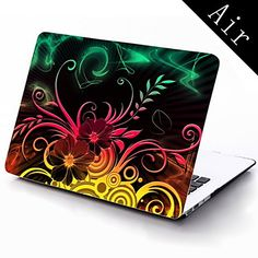 Flower Design Full-Body Protective Plastic Case for 11-inch/13-inch New MacBook Air – USD $ 25.99
