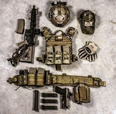 Plate carrier + War belt with magazines