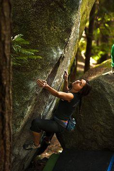 #LL @lufelive #rockclimbing Isabelle - Trad Killer V4  A Squamish Top 100