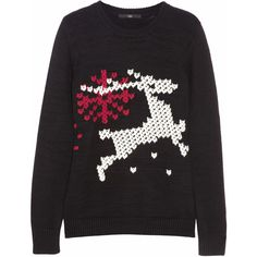 6 not-so-ugly Christmas sweaters ❤ liked on Polyvore featuring tops, sweaters, holiday tops, evening sweaters, cocktail tops, holiday christmas sweaters and special occasion tops