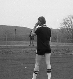 1975 Track - Kathy Spring contemplating her jump against Waterford.