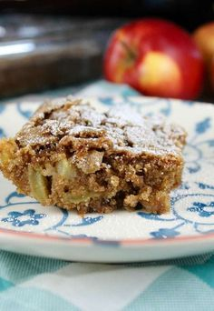 Fresh Apple Cake is one of my family's very favorite desserts. It comes together really easy, you don't even need a mixer! Sweet apples and warm cinnamon will fill your house with the best of autumn baking!