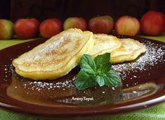AranyTepsi: Pufók almás palacsinták