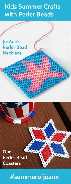Summer Kids Crafts: Totally addictive Perler Beads @Jo-Ann Fabric and Craft Stores #summerofjoann