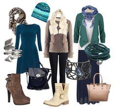 сет одежды для зимнего типа