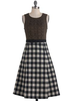 #styleicon #modcloth Tracy Reese Sew in Love Dress looks like it would also have a great twirl to it