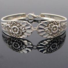 Spoon crafts!!! Bebe'!!! Silver spoons make great rings or bracelets!!!