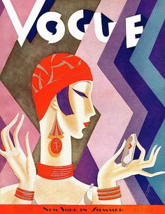 Some beautifully illustrated vintage Vogue covers . from Miss Moss who scanned them from a book of Vogue covers and from Modeesquisse who has an extensive. Art Deco Illustration, Illustrations, Art Deco Stil, Art Deco Era, Art Vintage, Vintage Posters, Capas Vintage Da Vogue, Cover Art, Art Couple
