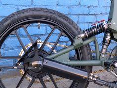 Mbk 51 MG Street Fighter – Tomahawk Mopeds Custom Moped, Honda Ruckus, 50cc, Motorcycle Bike, Street Fighter, Motorbikes, Bicycle, Mopeds, Motorcycles