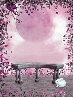 chair decorations for christmas on sale at reasonable prices, buy Wedding Background Backdrops Pink Moon Stone Chair And Floor Rabbit Kate Background Backdrop from mobile site on Aliexpress Now! Free Background Photos, Studio Background Images, Fantasy Background, Wedding Background, Background For Photography, Photography Backdrops, Photo Backgrounds, Wallpaper Backgrounds, Backgrounds For Pictures
