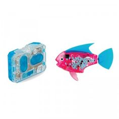 The Aquabot Remote Control Angelfish is a water-activated robotic fish with nine lifelike swimming patterns.