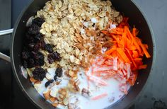 Cook oats in a mixture of coconut milk and water to add a subtle flavor.