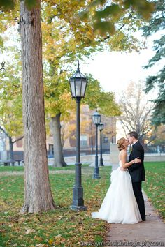 Fall Wedding. AudreyMichelWeddingPhotography