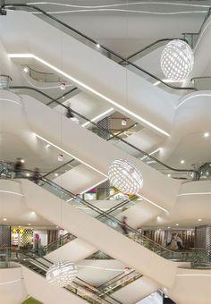 The Lefo Mall Shopping Centre - Suzhou, China - 2012 - Broadway Malyan #stair #mall #architecture